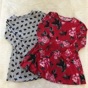 Toddler Girl's Long Sleeve Dresses! Size 4t!
